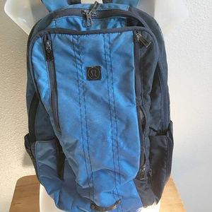 lululemon athletica blue backpack